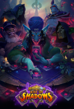 Hearthstone Rise of Shadows Geliyor! Poster