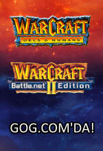 Efsane Warcraft Sürümleri Good Old Games'de! Poster