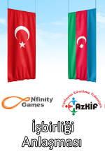 Nfinity Games Azerbaycan E-spor İşbirliği Poster
