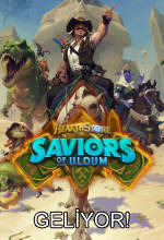 Hearthstone'a Saviors of Uldum Geliyor! Poster