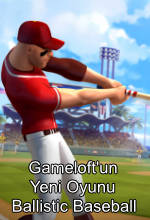 Gameloft'tan Apple Arcade Oyunu: Ballistic Baseball Poster