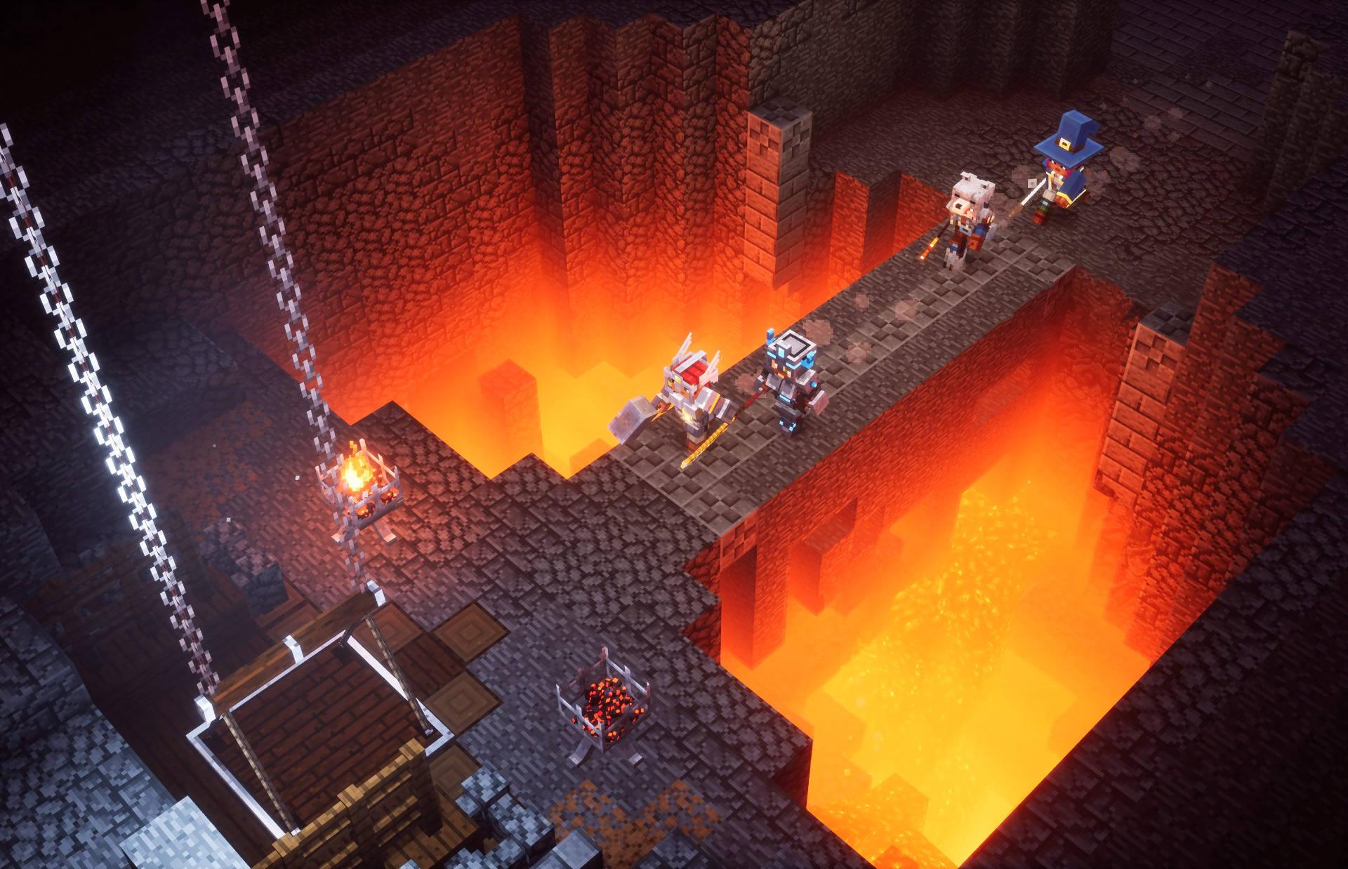 Minercaft Dungeons Ekran Görüntüsü